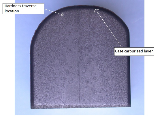 Case Carburised Layer